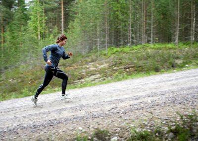Juoksu-treeniä